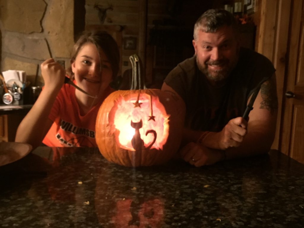 Chaynee pumpkin 2015